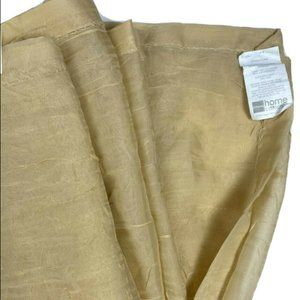 JC Penney Discontinued Window Scarf Curtain Tan